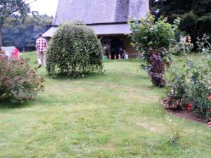 Jardin de la maison Launay