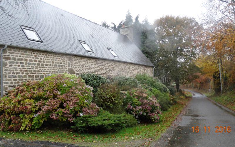 L'arrière de la Maison Launay